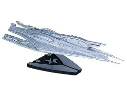 Mass Effect Alliance Cruiser Silver Ltd Ship Rep