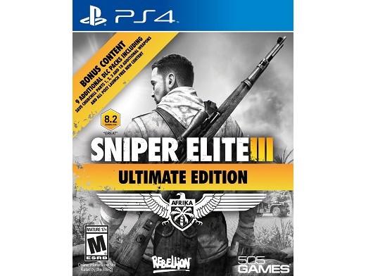 Sniper Elite III Ultimate Edition PS4