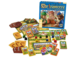CarTcassonne: El juego de Cartas de Carcassonne