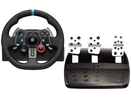Volante Logitech G29 Driving Force PC/PS3/PS4/PS5