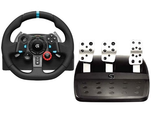 Volante Logitech G29 Driving Force PC/PS3/PS4/PS5
