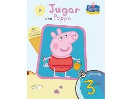 A Jugar con Peppa 3 Años (ESP) Libro