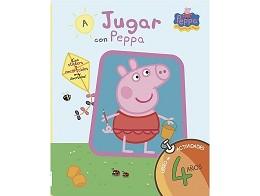 A Jugar con Peppa 4 Años (ESP) Libro