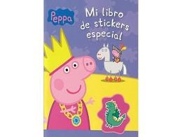 Peppa Pig y el Libro de Stickers (ESP) Libro