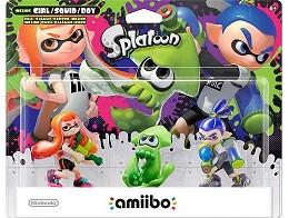 Nintendo amiibo: Figura Splatoon Series 3 Set