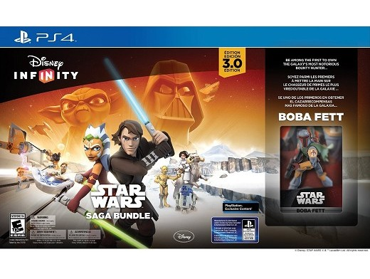 Disney Infinity: SW (3.0 Ed) Saga Bundle PS4