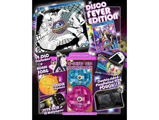 Persona 4:Dancing All Night Disco Fever Ed PS VITA