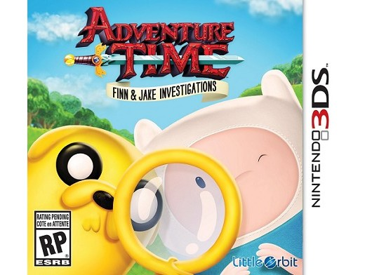 Adv.Time: Finn and Jake Investigations 3DS