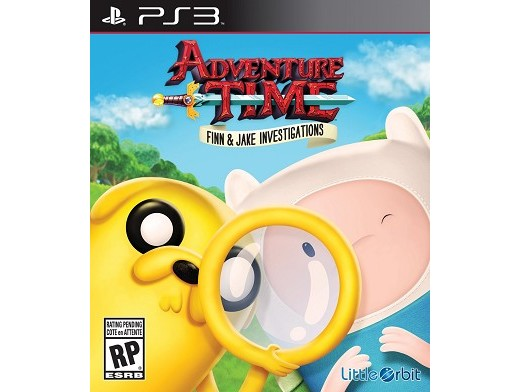 Adv.Time: Finn and Jake Investigations PS3
