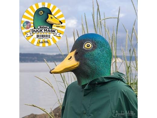 Máscara Cabeza de Pato