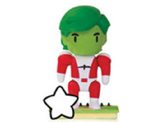 Mini Figura Scribblenauts Unmasked Beast Boy