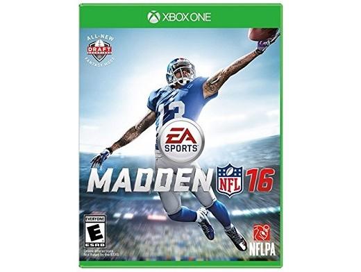 Madden NFL 16 XBOX ONE Usado