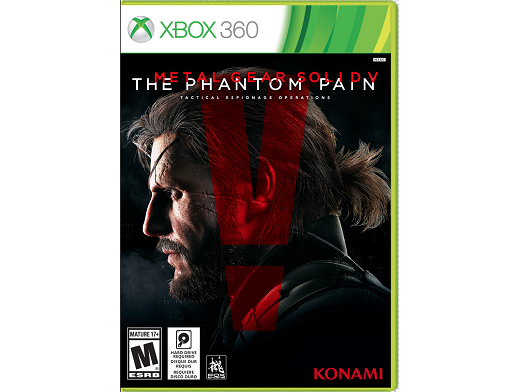 Metal Gear Solid V: The Phantom Pain XBOX 360