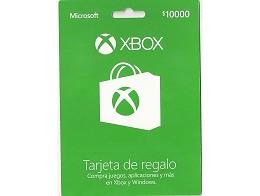 XBOX Live Chile Tarjeta Prepago $10.000 (Digital)