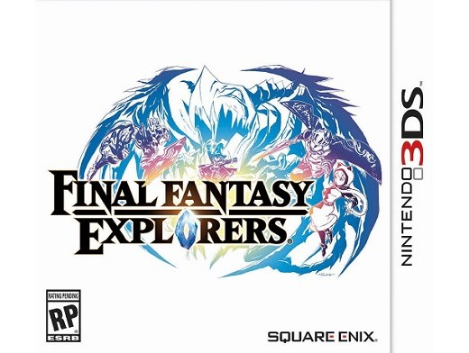 Final Fantasy Explorers 3DS Usado