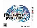 Final Fantasy Explorers 3DS Usado