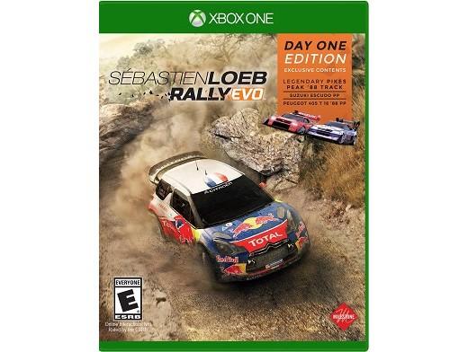 Sebastien Loeb Rally Evo XBOX ONE Usado
