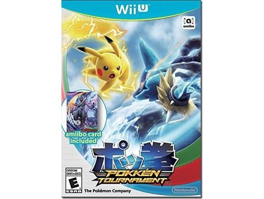 Pokkén Tournament Wii U Usado