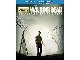 The Walking Dead: Season Four Blu-Ray