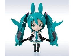 Figura Chogokin Miracle Henkei Miku/Rody (19 cms)