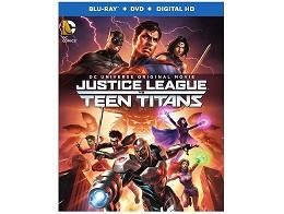 Justice League vs Teen Titan Blu-ray