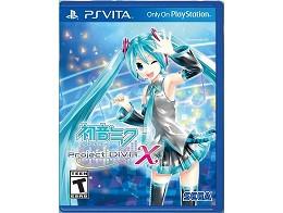 Hatsune Miku: Project DIVA X PS Vita
