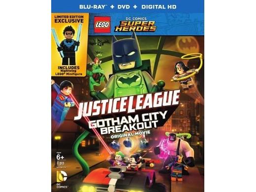 LEGO Justice League: Gotham City Breakout Blu-Ray