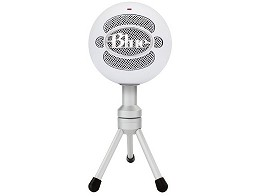 Micrófono Blue Snowball iCE Condenser White PC