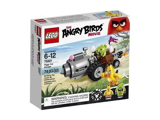 LEGO Angry Birds 75821 Fuga en Auto de los Cerdos