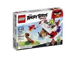 LEGO Angry Birds 75822 Ataque en el avión cerdos