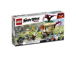 LEGO Angry Birds 75823 Robo de Huevos en la Isla