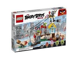 LEGO Angry Birds 75824 Demolición de Ciudad Cerdo