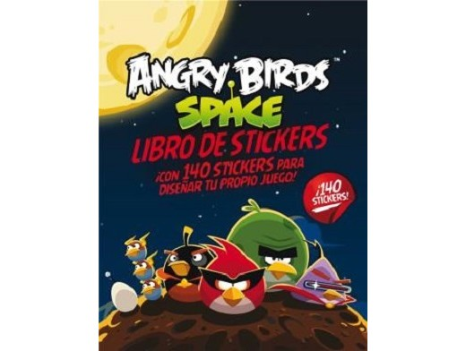 Angry Birds Space: Libro de Stickers (ESP) Libro