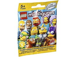 Figura LEGO Minifiguras Los Simpsons s2 al azar