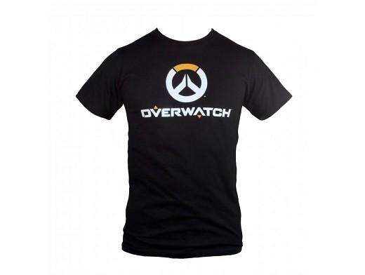 Polera Overwatch Full Logo Premium Black M
