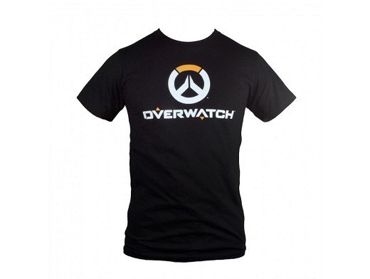 Polera Overwatch Full Logo Premium Black XXL