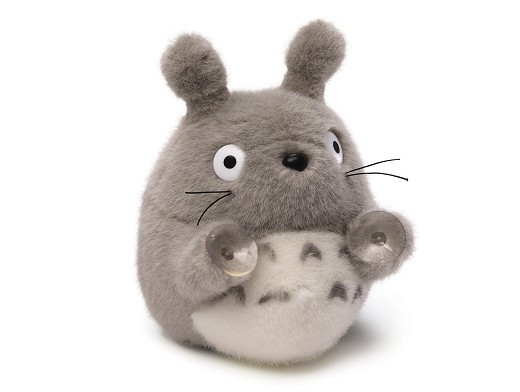 Peluche Totoro My Neighbor Totoro con ventosas