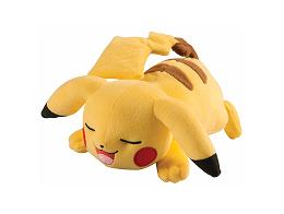 Peluche Pikachu durmiendo (20 cms)