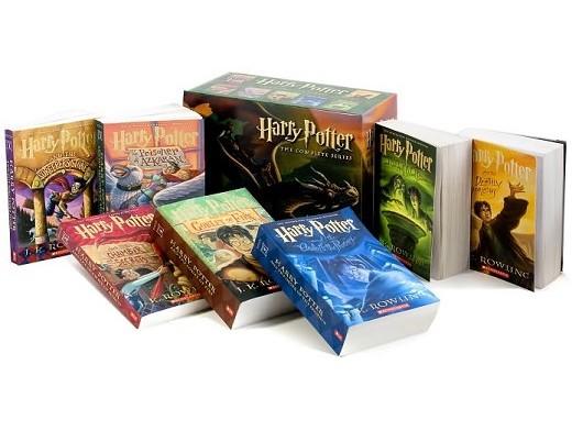 Harry Potter Paperback Box Set (ING) Libro