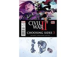 Civil War II Choosing Sides #3 (ING/CB) Comic