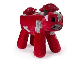 Peluche Minecraft Mooshroom