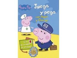 Juega y Pega con Peppa y George (ESP) Libro