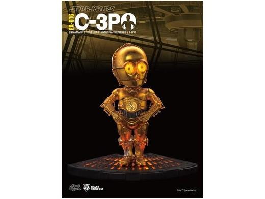 Estatua Egg Attack C3PO