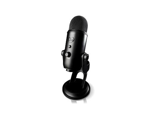 Micrófono Blue Yeti Blackout Edition PC