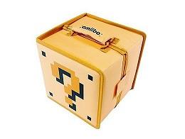 Amiibo Travel Case Retro Mario Mystery Block