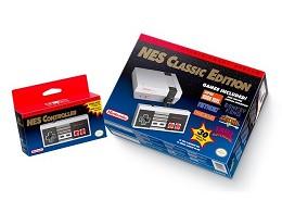 Nintendo Mini NES Classic Edition con 2 Controles