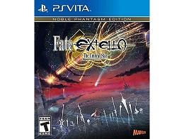 Fate/EXTELLA The Umbral Star Noble Phantasm Ed PSV