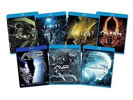 Alien 7-Film Franchise Bundle Blu-Ray