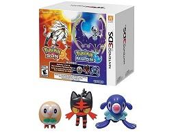 Pokémon Sun & Moon Pack +Mini Figuras Starters 3DS