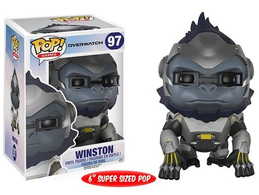 Figura Pop! Games: Overwatch - Winston (6 Inch)
